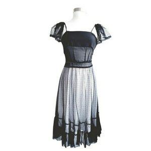 NWOT CHLOE Black Lace Cocktail Party Dress
